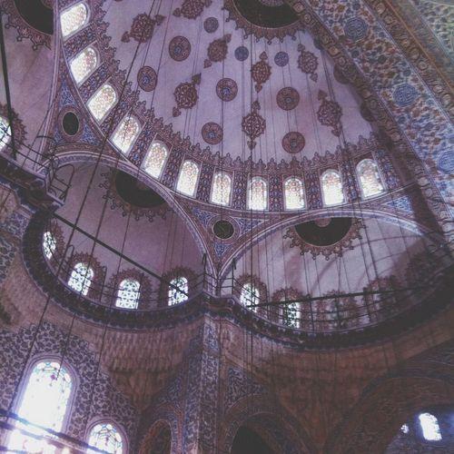 Traveling Praying Istanbul Turkey