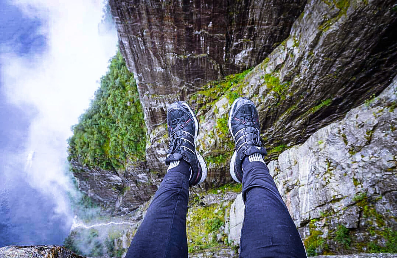 My Year My View Pulpit Rock Stavanger Norway Climbing Hike View From Above View Sports Photography High Up