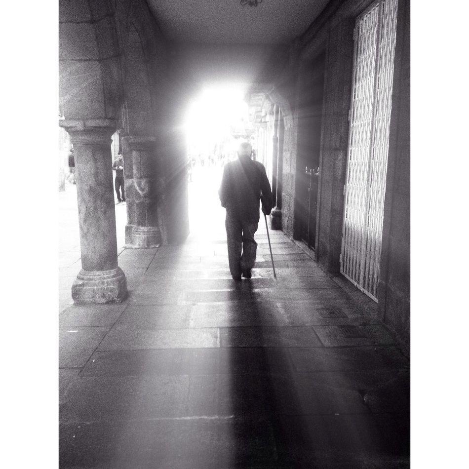 Walking Around The City  NEM Black&white EyeEm Best Shots - The Streets in Compostela.