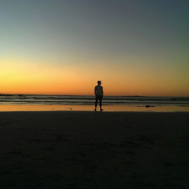 And the shadow of the day, will embrace the world in grey Summersunsets Edenonthebay Newyearseve Silhouettes