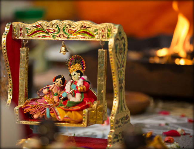 Art Art And Craft Close-up Colours Craft Creativity Cultures Dance Decoration Dolls Figurine  Focus On Foreground Human Representation Indoors  Kids Krishna Miniature Paperdolls Religion Sculpture Spirituality Statue Temple - Building Tradition