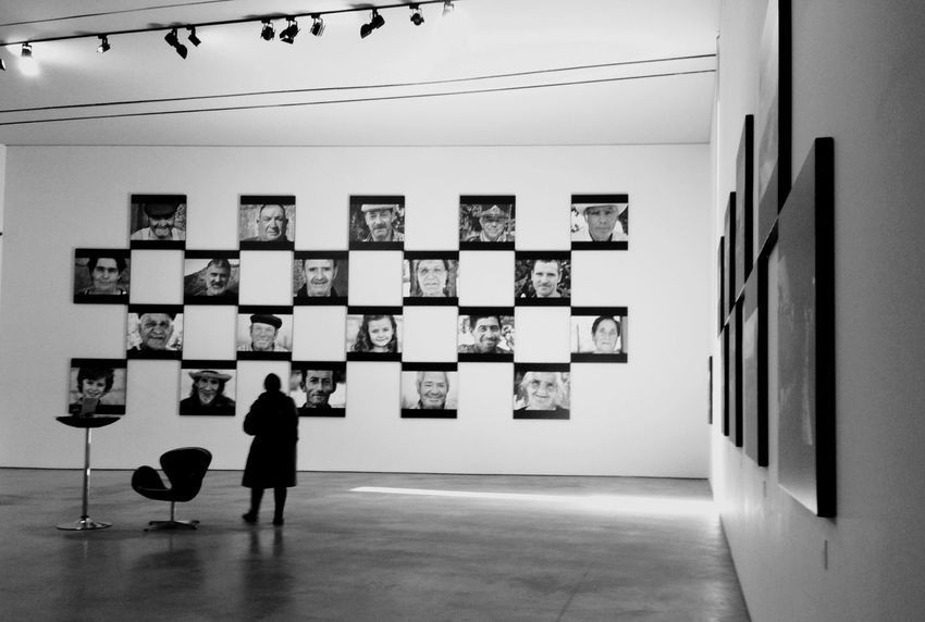 Exibition Exposicion Mirar Ver Observar Percibir