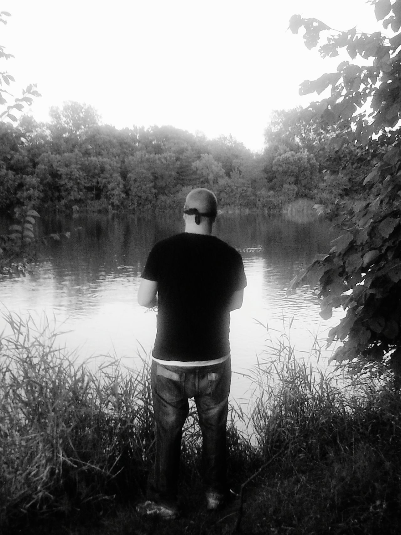 Family fishin time! Fishing Blackandwhite Photography Family Cousins  Shades Of Grey