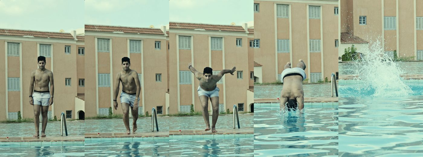 WhO ?! ابو هيف .xD Jumping Beach Life Northcoast Water Nice Day Sunday Friends Collage Diving Swimming Pool