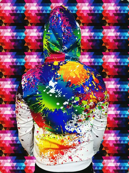 Multi Colored Close-up Powder Paint Multicoloured Architecture Art Day Spray Paint Street Art Street Street Photography Pink Blue Red And White Red Coloured Sweather Sweatshirt My Boyfriend Yellow Yellow And Green Green Color Mosaic Mosaic Art Mosaic Pattern Out Of Control Standing Out From The Crowd
