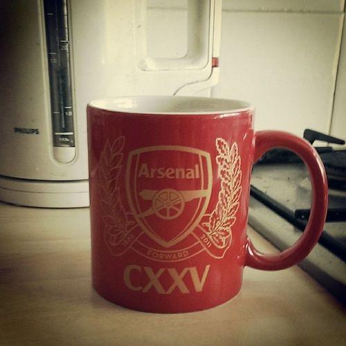 FA Cup Day = mandatory use of Arsenal mug. Arsenal Afc Gunners Uta