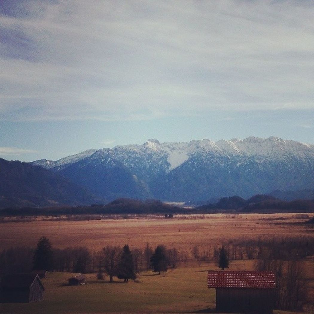 Murnau Moos Alpen Blauesland
