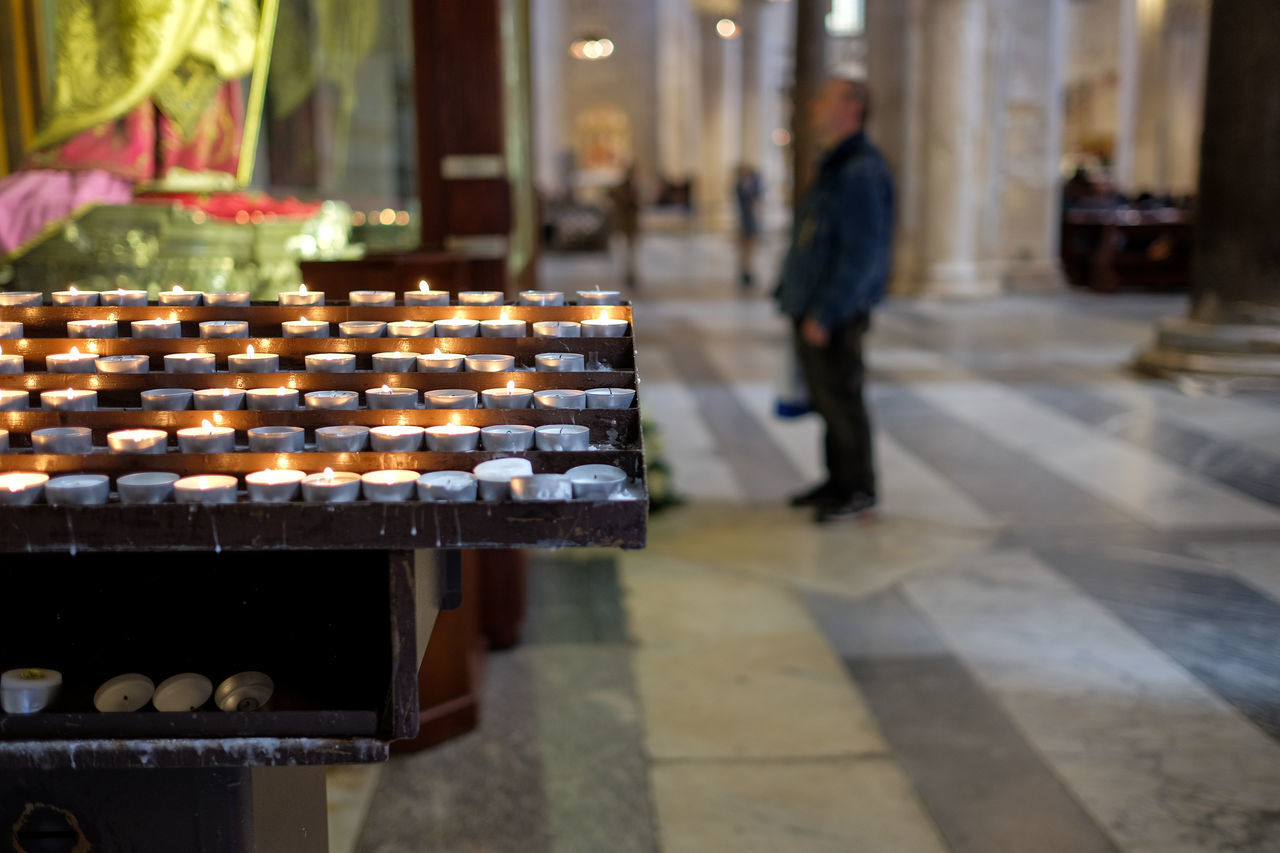 Bari 2016 Casual Clothing Cathedral Church City City Life Focus On Foreground Illuminated Italy Leisure Activity Lifestyles Puglia Selective Focus Shop Store