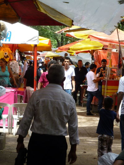 Adult Adults Only Architecture City Day Large Group Of People Market Stall Men Only Men Outdoors People Real People Street Street Market Street Market Manaus Sunlight Travel Destinations Women