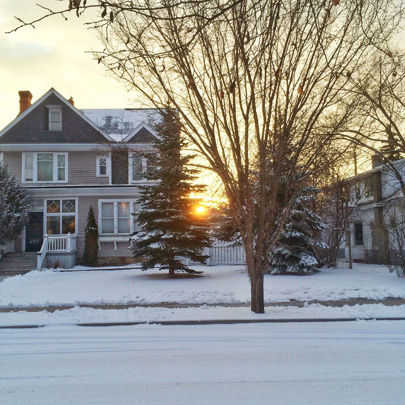 March weather: snow gone, then this. Weather Snow Early Morning Springtime