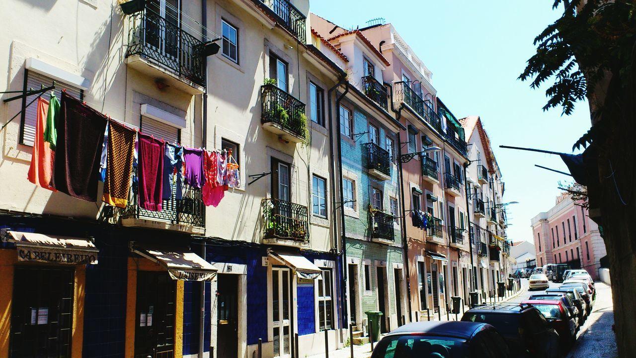 lisbon street Lisbon Street Lisbonlovers lisboa Lisbon Houses