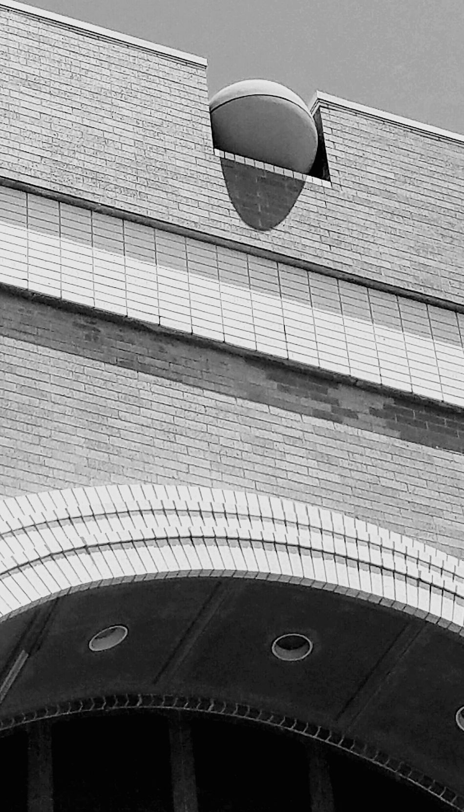 #1 Architecture Architecture_collection Black And White Building Exterior Built Structure Day Low Angle View MUR B&W No People Outdoors Sky Welcome To Black
