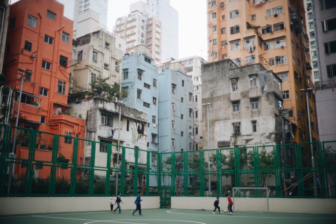 Beautiful stock photos of fußball, Architecture, Boys, Building, Building Exterior