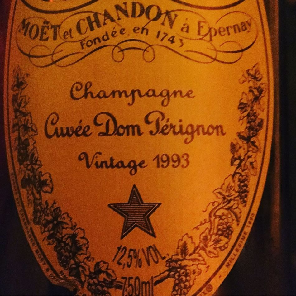 Don Perignon 1993 🍾 Indoors  Close-up Text No People Day Champagne Donperignon Rare Unique Luxurylifestyle  Lifestyles