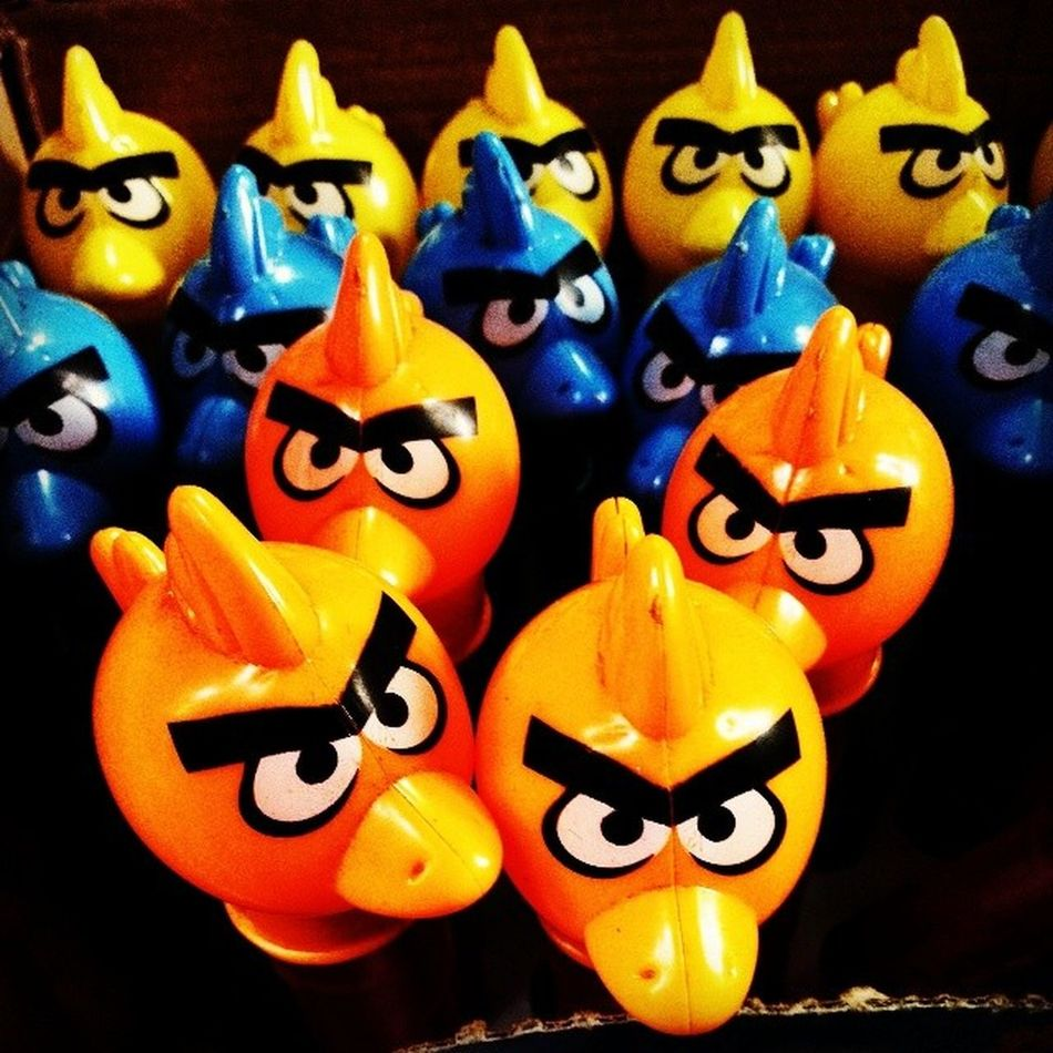 REALLY Angry Birds! ;-) Angrybirds Toys Funny Incrediblecalcutta