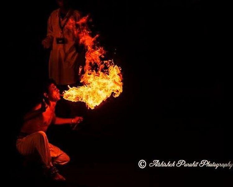 Jodhpur RIFF opening night Photographie  Rajasthan Like4like Bluecity Jodhpuri Randomness Fire Performer  Stage Jodhpur Indian Jodhpurriff2015
