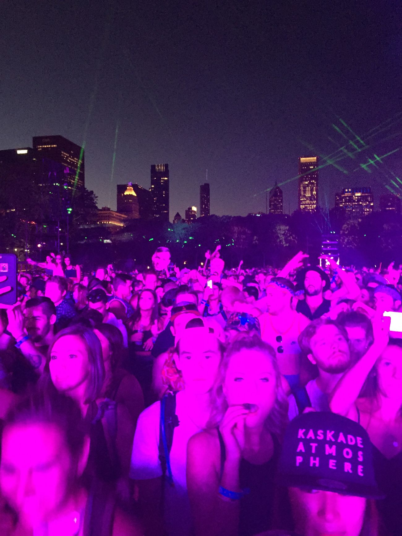 Kaskade at Lollapolooza 2015 The Fan Club Electronic Music Shots Lollapalooza Purple Chicago Concert Concert Photography