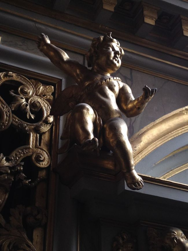 Cherub EyeEm Best Shots Stockholm Storkyrkan
