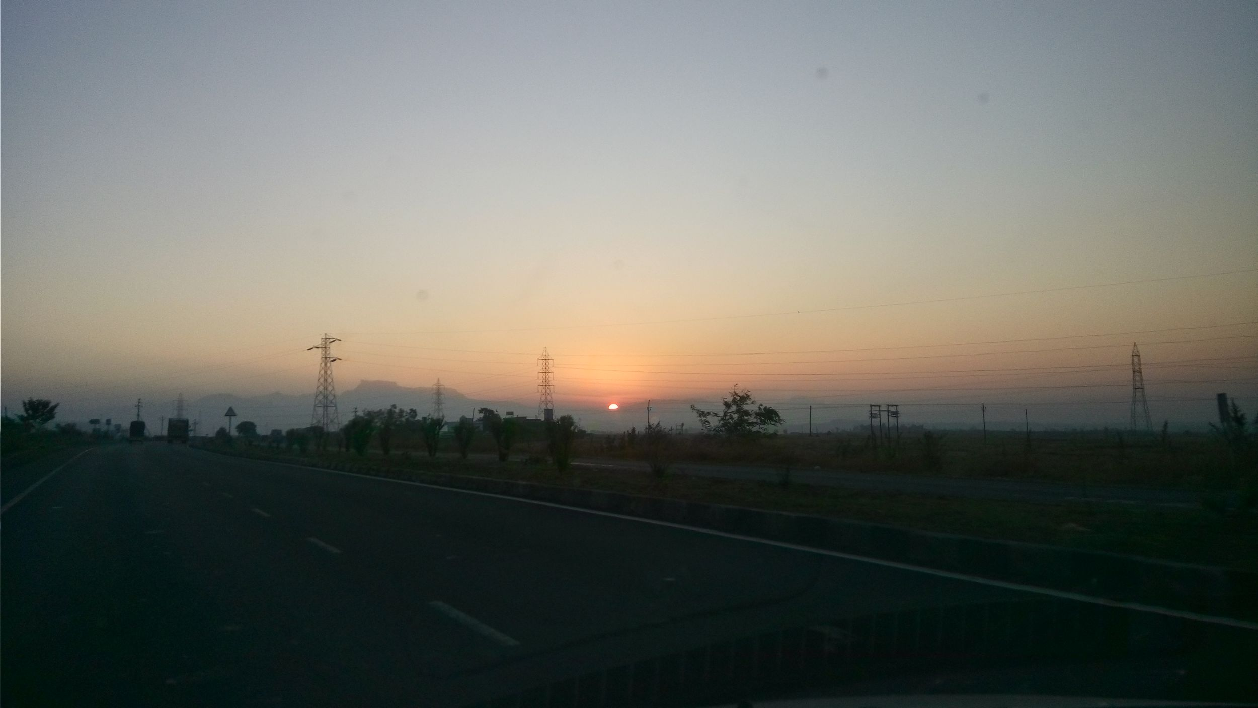 Believe me thats SUNRISE.... On my way to Nashik Niphad. Clicked on December 25th. Sunrise 43 Golden Moments Showcase: July