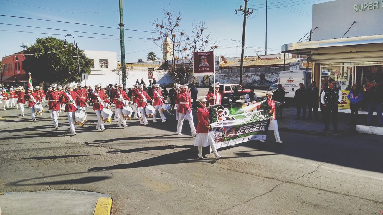 Encuentro nacional de bandas de guerra Tec Morelia Ponys 🎺
