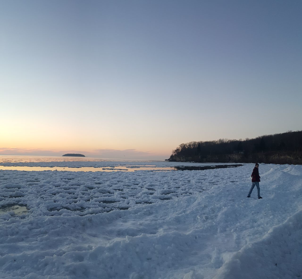 Cold Temperature Winter One Person Snow Frozen Full Length Ice Outdoors One Man Only Sunset Lake People Silhouette Ice-skating Winter Sport Ice Skate Scenics Nature South Bass Island Wrangler Ice