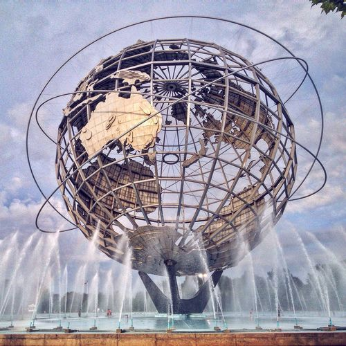 Metalsculpture Sculture Earth My View NYC Photography NYC Flushing Meadow Park Park Nature Myview