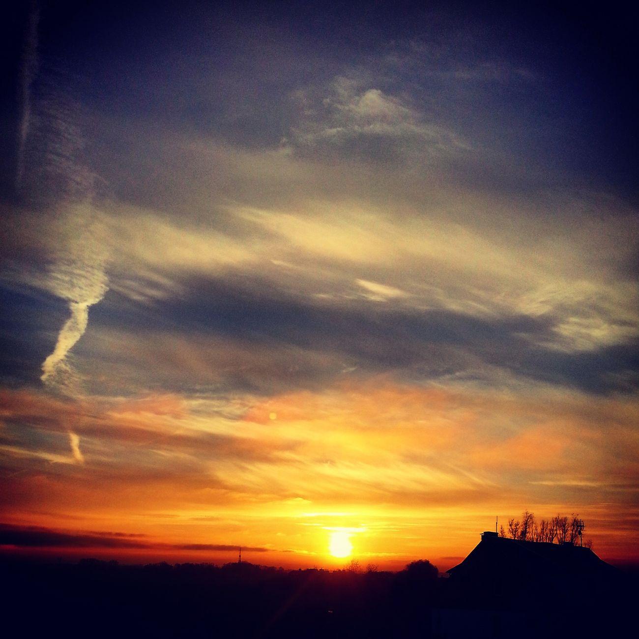 Sunset Szczecin Zachodslonca Skyporn