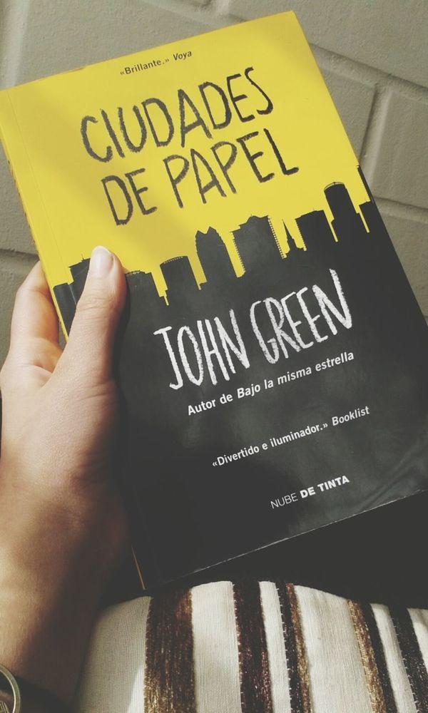 ? Books ♥ Johngreen CiudadesDePapel