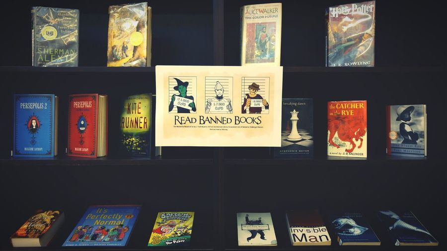 "Week 32 - The Wonderful Wizard of Oz by L. Frank Baum is no.47 on the ALA's list of Banned or Challenged Classics, for having ""no value"" for children and supporting ""negativism."" Reading Read Library Monrovia Saturdayafternoon  Books Bookstore Friendsbookstore Bannedbooks 禁書"