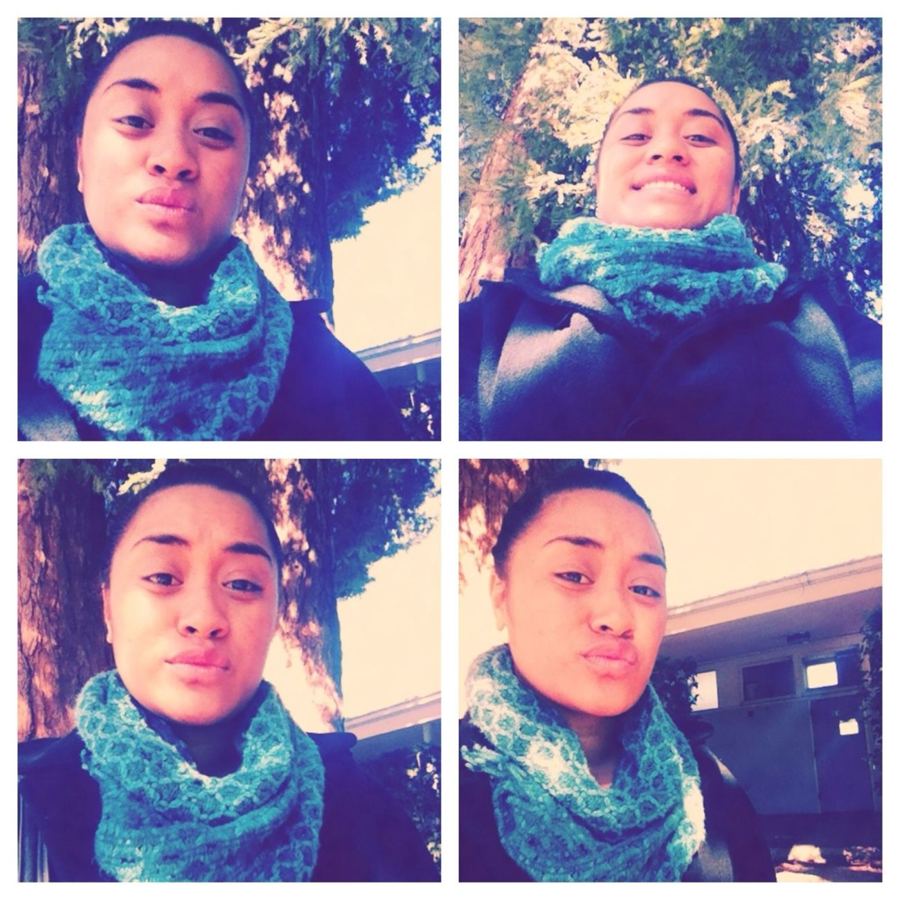 chilln at school:)