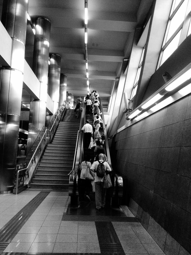 EyeEm Best Shots EyeEm Best Shots - Black + White Notes From The Underground Undergroundstation