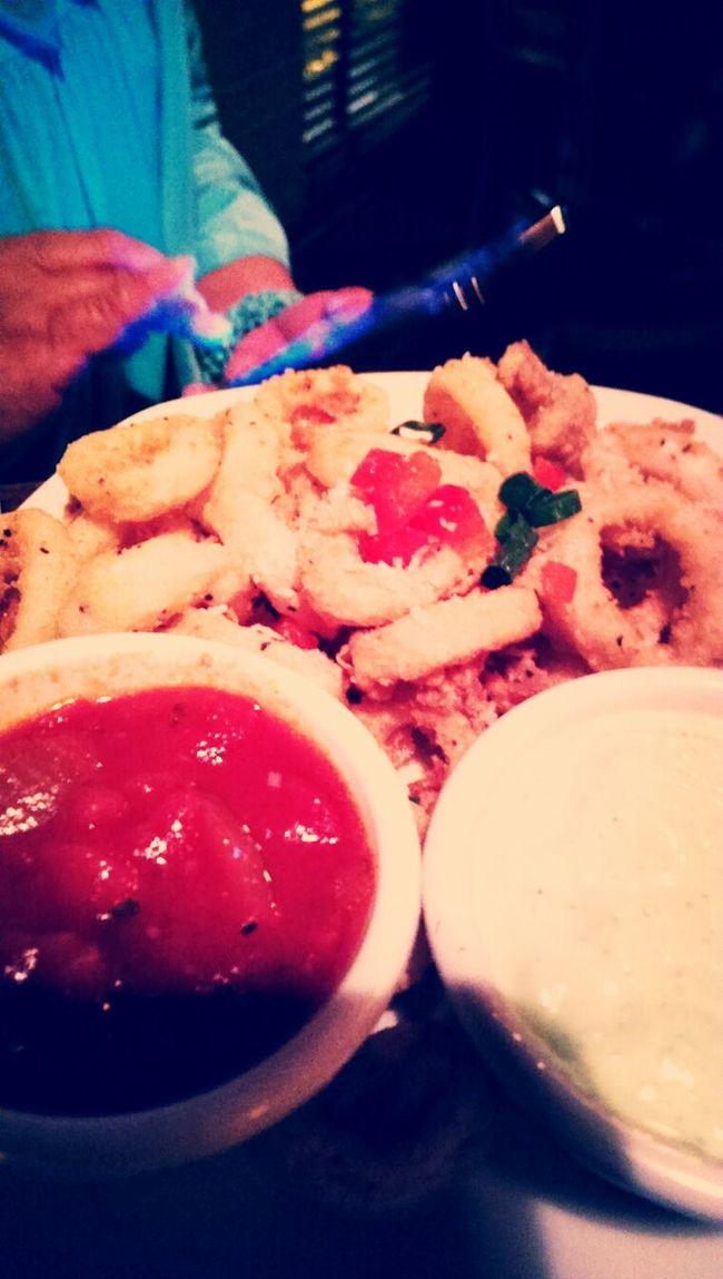calamari! Calamari Dinner Foodporn Yummy Food