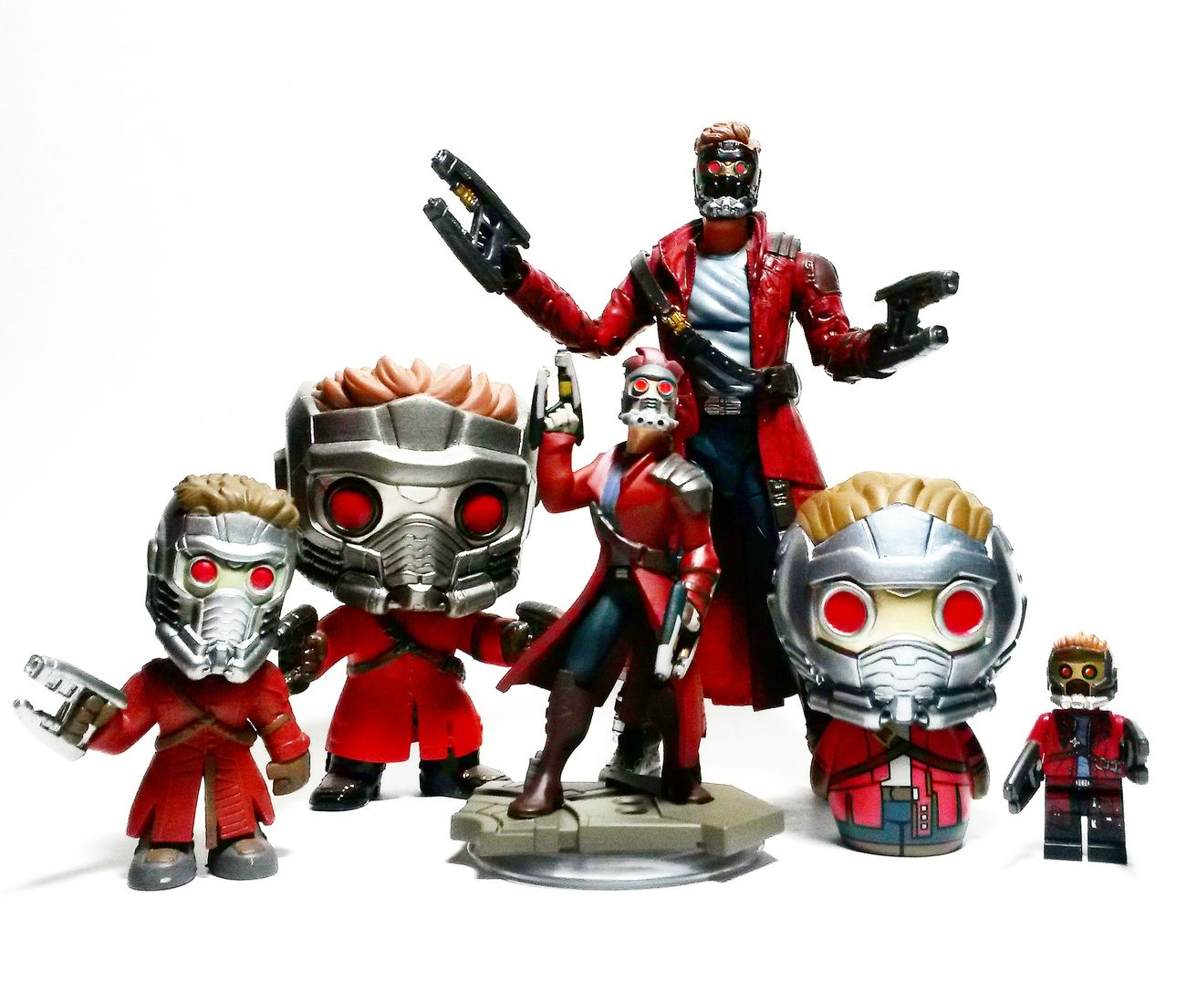 Star Lord Star Lord Disney Infinity Funko LEGO Lego Minifigures Dorbz Marvel Legends Marvel