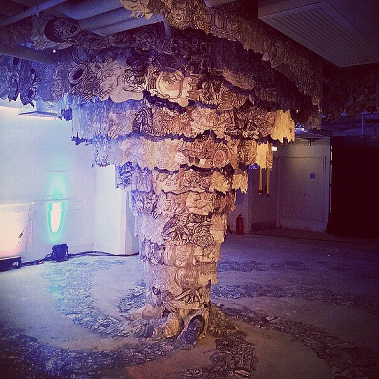 Fun times last night at HongKongWorkInProgress launch party. Recommend you to go check the exhibition out.