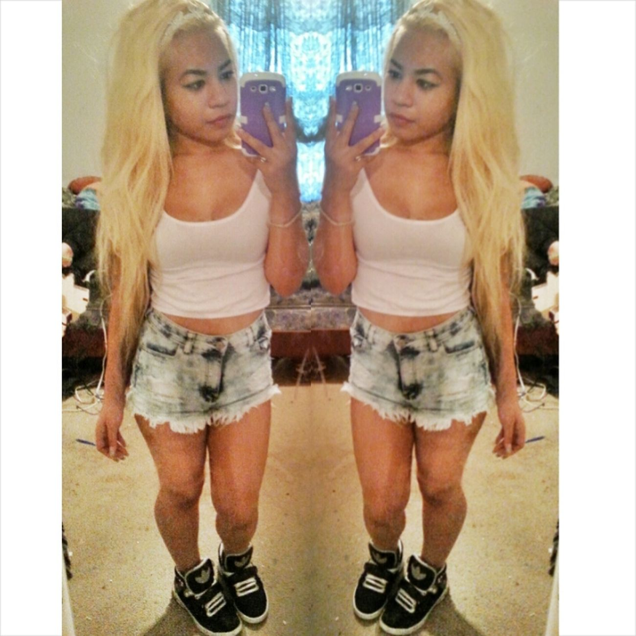 Cambodian Khmerican Ootd Asian  #selfies #blonde