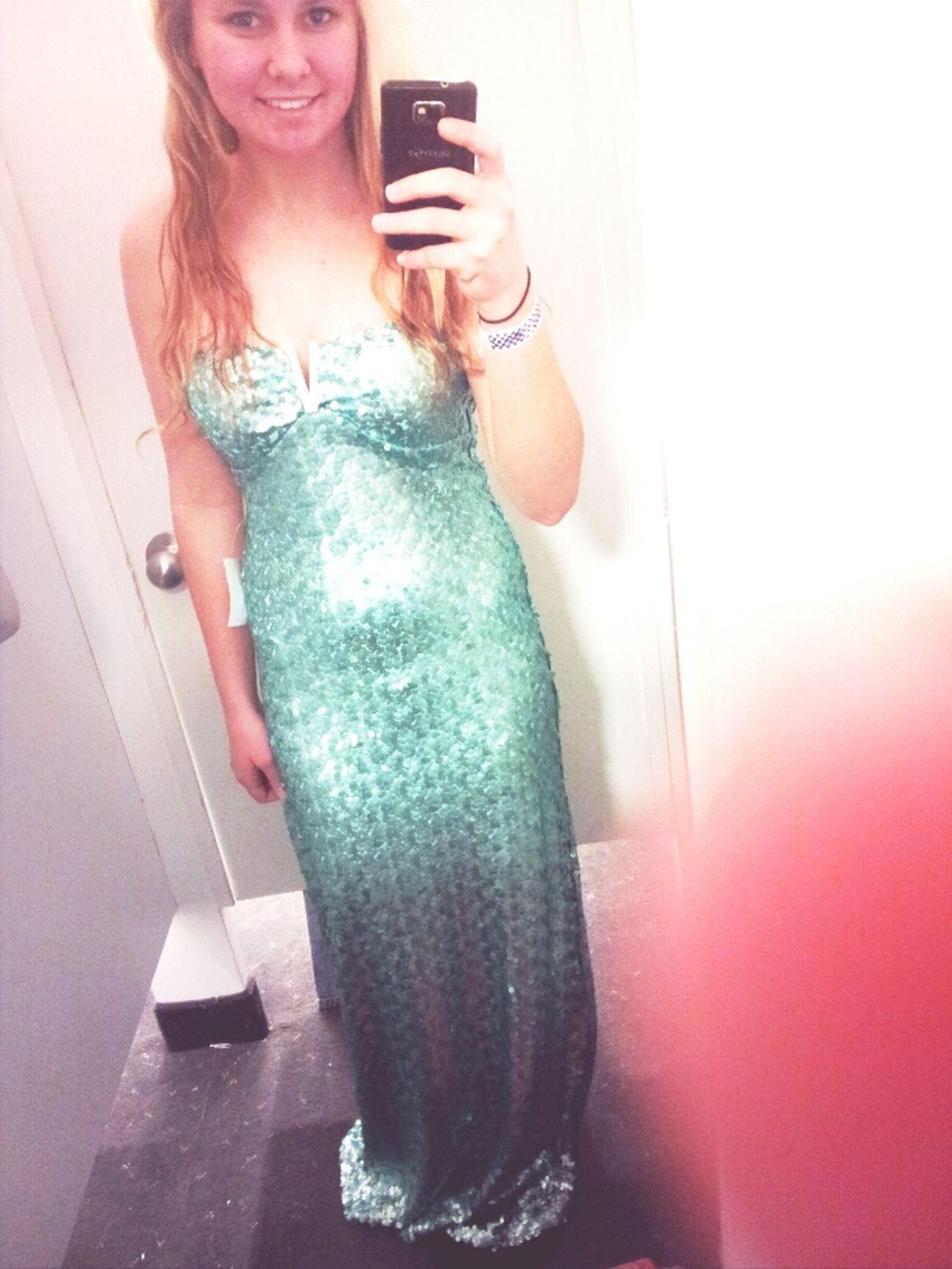 totes felt like a mermaid