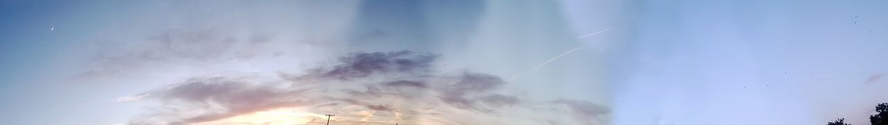 sky, nature, low angle view, beauty in nature, cloud - sky, no people, outdoors, day, blue, scenics
