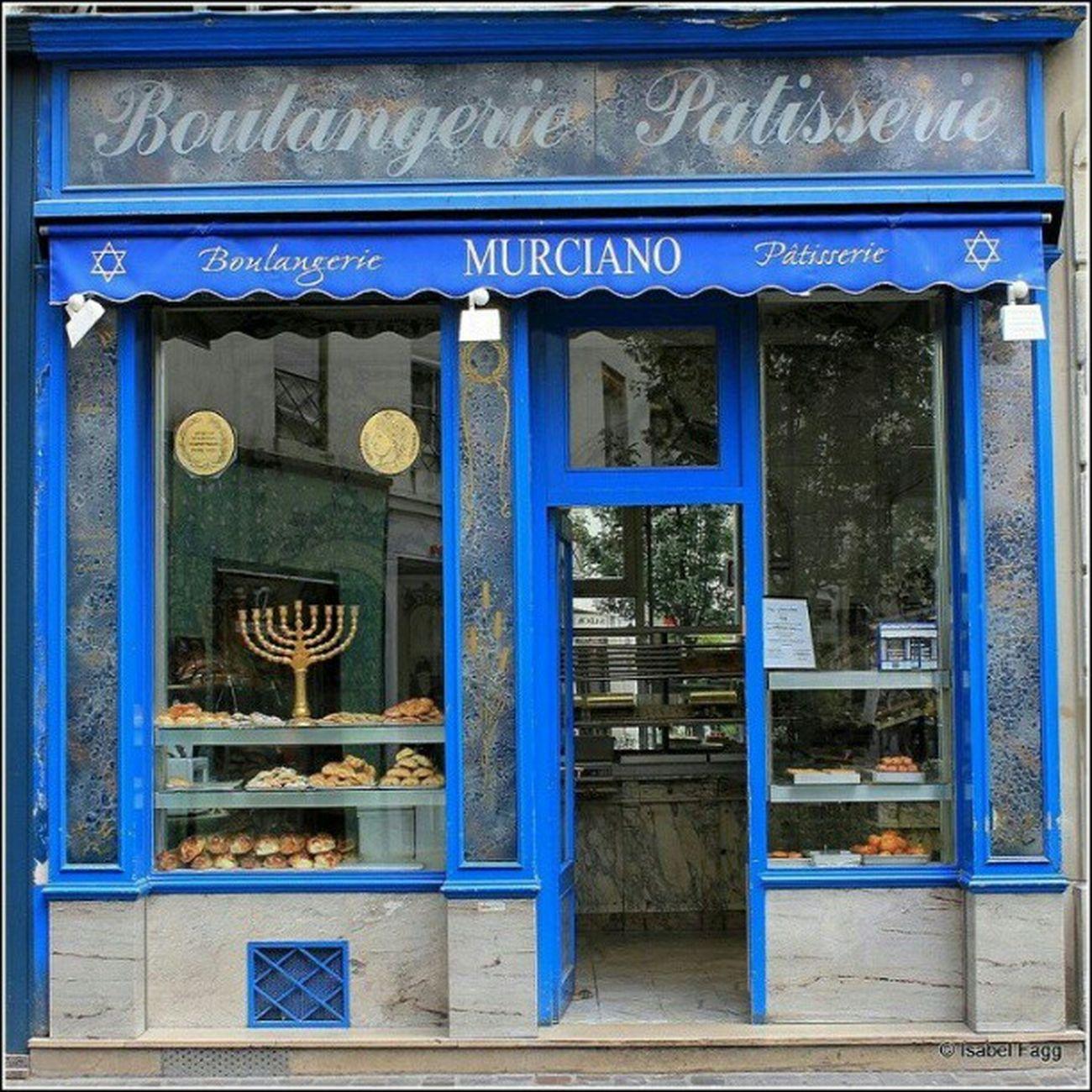 Jewish Bakery in LaMarias Paris France