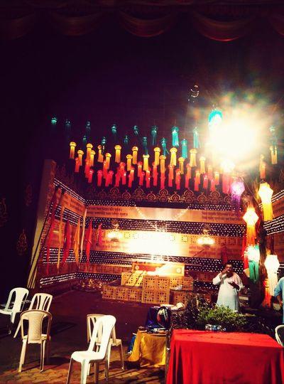 Lights decoration akashdive....afterganpati