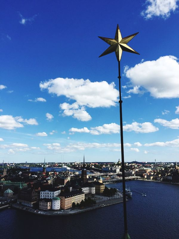 What an amazing city! Stockholm Sweden Cityscapes City View Amazing View Star Traveling Travel Photography Travel Destinations City View  Stunning Clouds Clouds And Sky Flying High