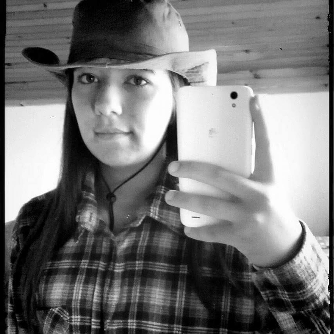 Cowboy Hat Cowboy Country Girl Selfie ✌ Cowboy Girl Cowboy Style