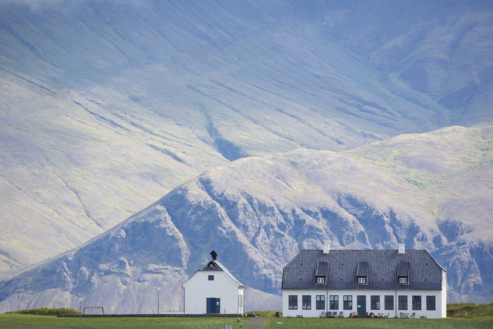 Building on peace island used by Yoko Ono for annual tribute to John Lennon Building Exterior Built Structure Iceland Icelandic John Lennon Mountain Mountains Peace Island Reykjavik Yoko Ono EyeEmNewHere Been There. Lost In The Landscape