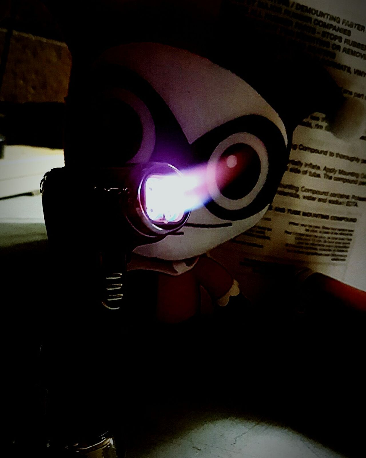 Indoors  No People Arts Culture And Entertainment Harleyquinn SuicideSquad Villan Redandblack Jokers Girl Puddin Jokers And Jesters Crazylove Fun! Toys Flamethrower Psycopath Lovepain
