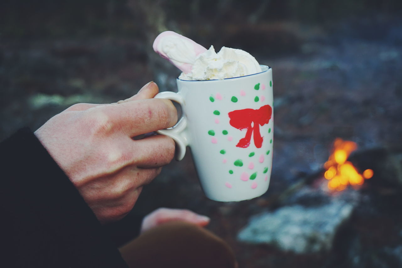Beautiful stock photos of winter,  Campfire,  Camping,  Close-Up,  Coffee