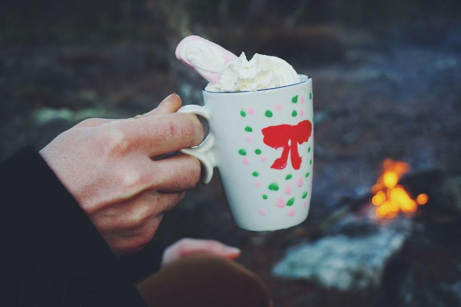 Beautiful stock photos of winter,  Campfire,  Camping,  Close-Up,  Coffee