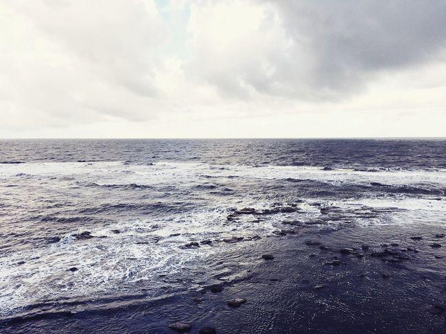 Restless sea Sea From Above North Sea England Stormy Sea Cold Weather Sea Waves English Coastline Seascape Skyscape Clouds