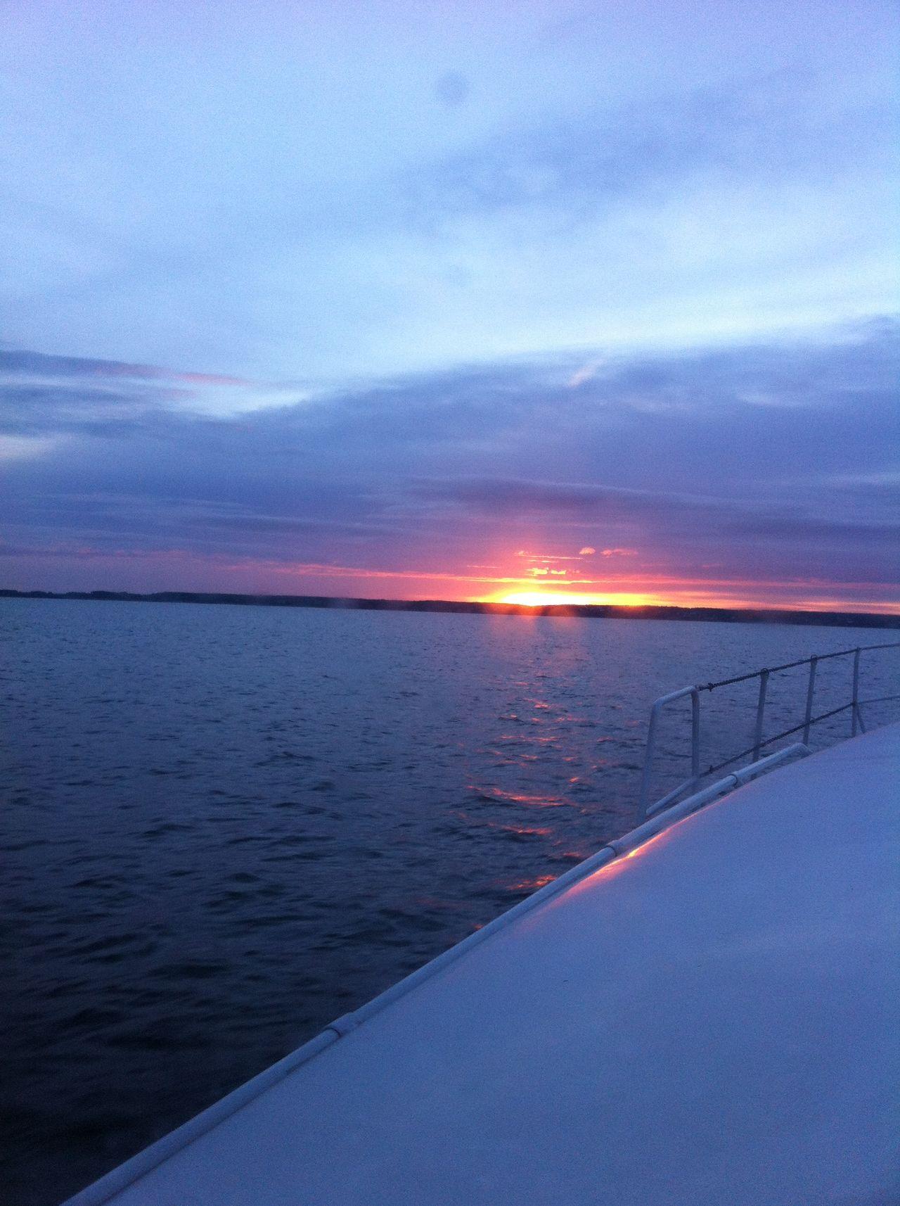 Sunset Boat Lake