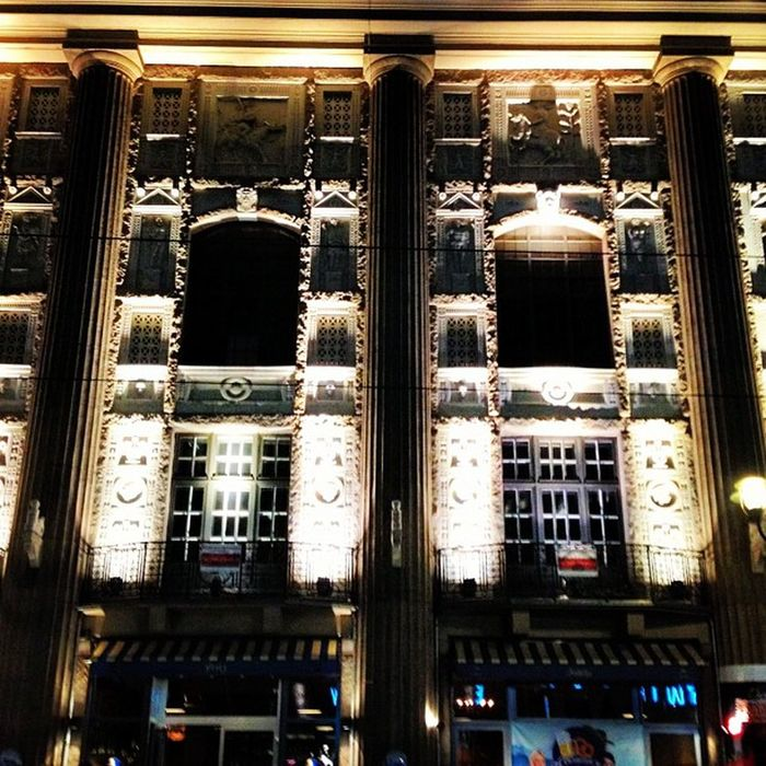 #Berlin by #Night Admirals-Palast Night Berlin