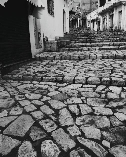 Morning Architecture Street Old Town Of Kef Inspirations Shooting Tunisia Tunisianyouth Underground Town Medina Black And White No People