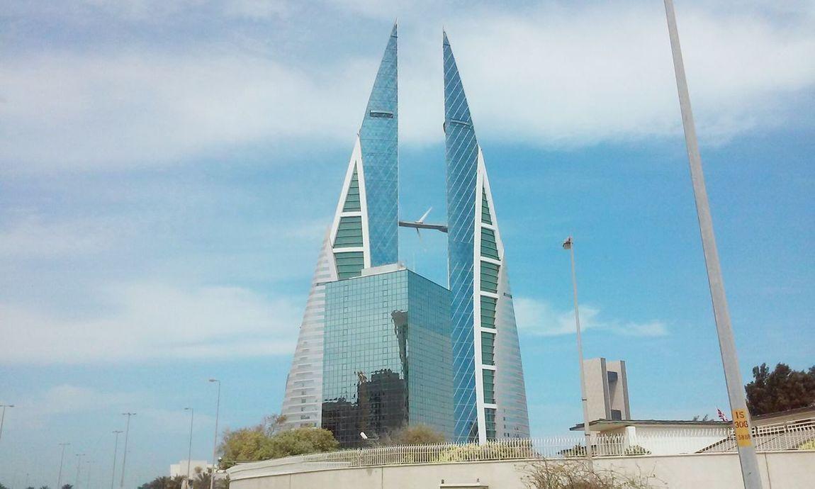 Negative Space Sky And City RoadsideView Eyeem Bahrain
